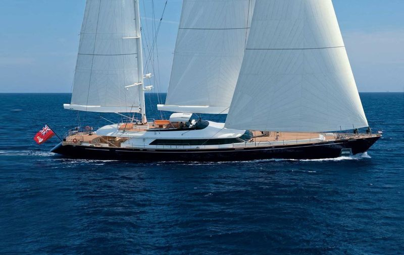 ENTERPRISE yacht Perini Navi