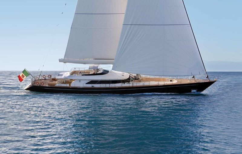 CLAN VIII yacht Perini Navi