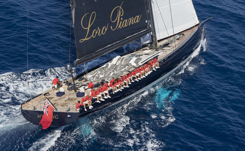 Baltic My Song at Loro Piana Superyacht Regatta