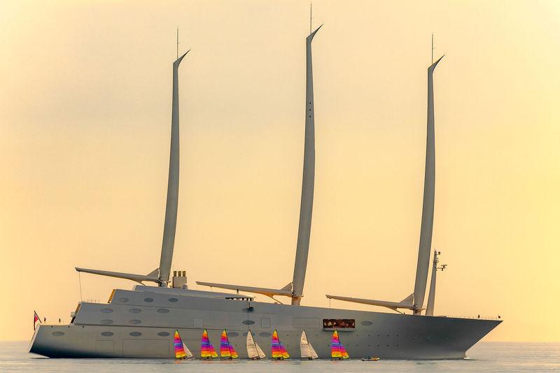 Sailing Yacht A in Monaco