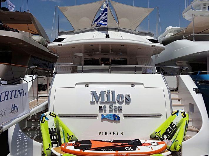 Milos At Sea in Nafplion