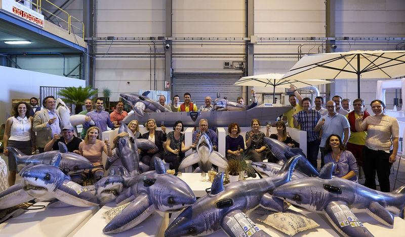HISWA superyacht press tour at Heesen