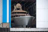 Feadship 1007 launch