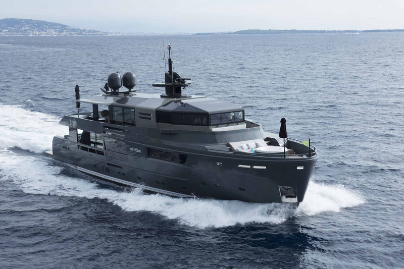 TORTOISE yacht Arcadia