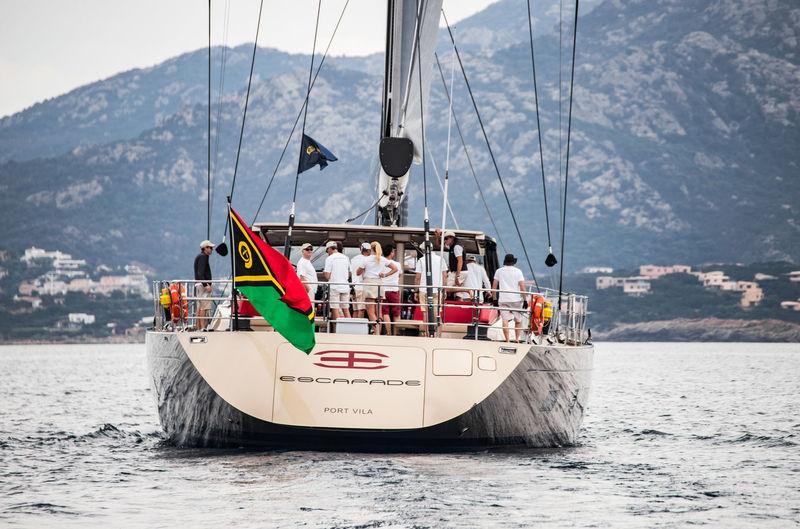 Escapade at the Loro Piana Superyacht Regatta Day 1