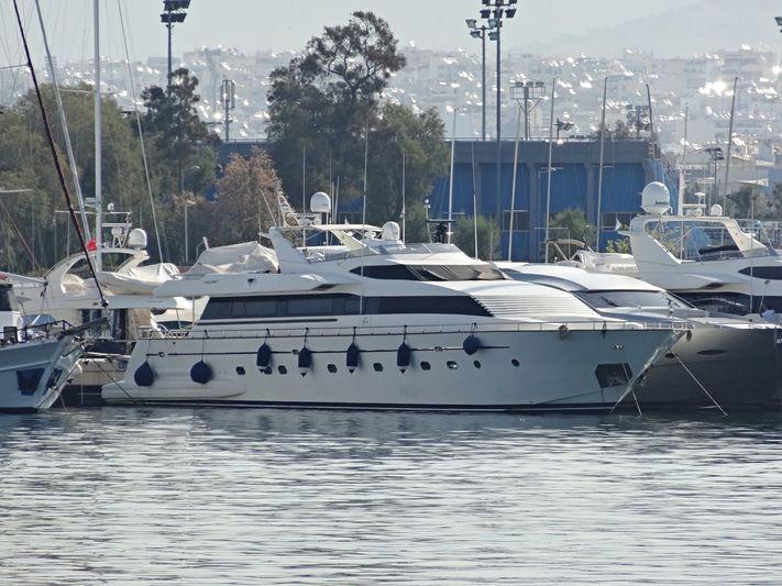 APANEMIA yacht Falcon