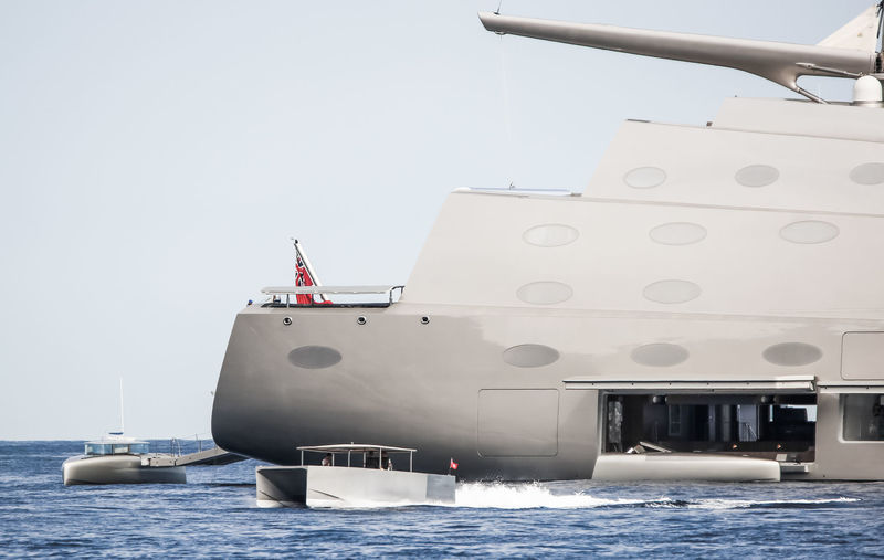 Sailing Yacht A tenders