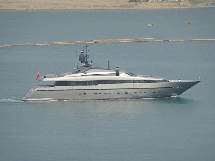 Alloya leaving Dubai Marina