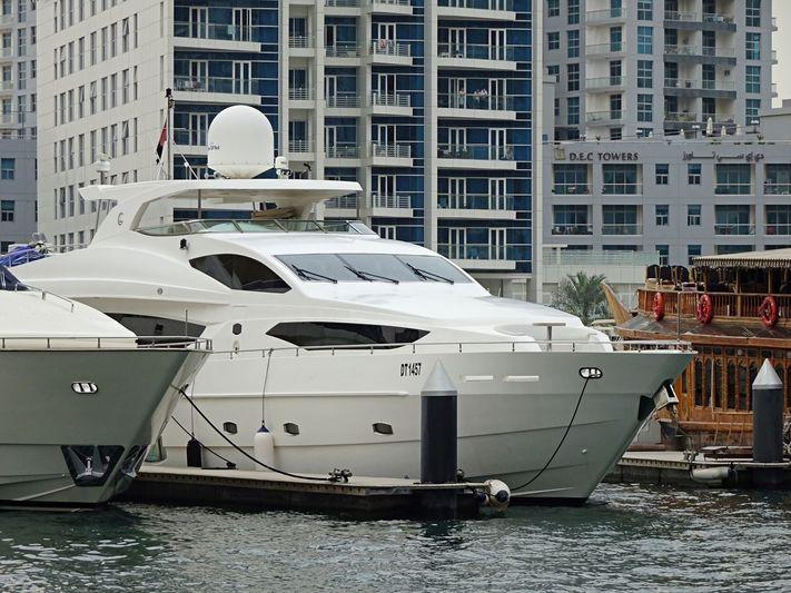 INFINITY 7 yacht Gulf Craft