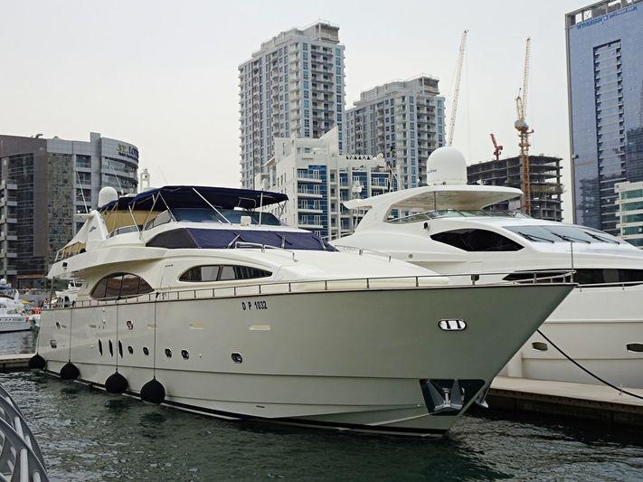 NASMA yacht Azimut