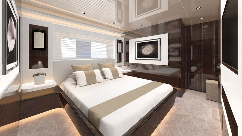 Pearl Yachts 95 interior design