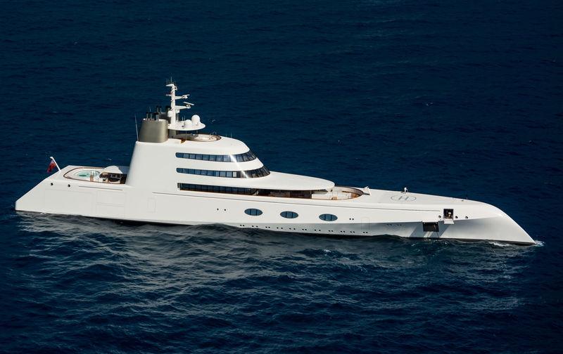 A  yacht Blohm & Voss
