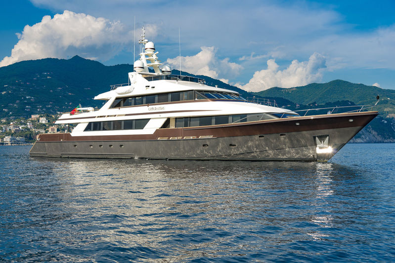 CLOUD ATLAS yacht Lloyds Ships
