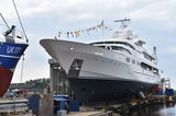 Dancing Hare relaunched after refit at Balk Shipyard
