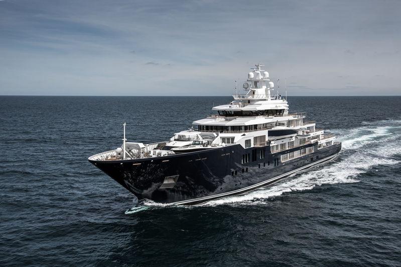 Ulysses U116 on the North Sea