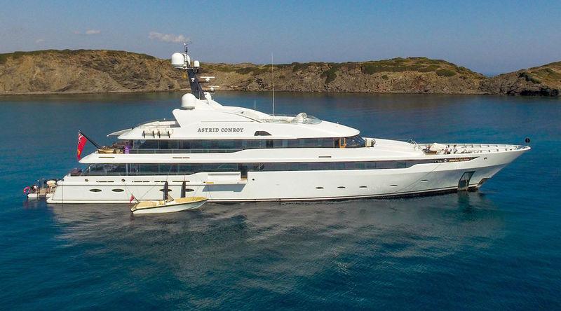 ASTRID CONROY yacht Amels