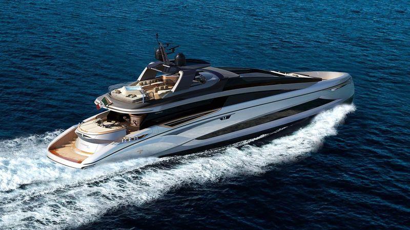 LUCY yacht Tecnomar