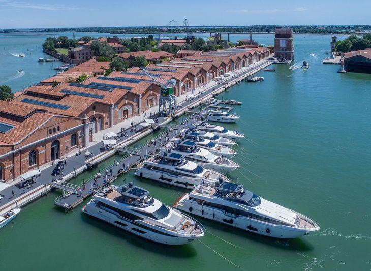 Ferretti Yachts 50th anniversary in Venice