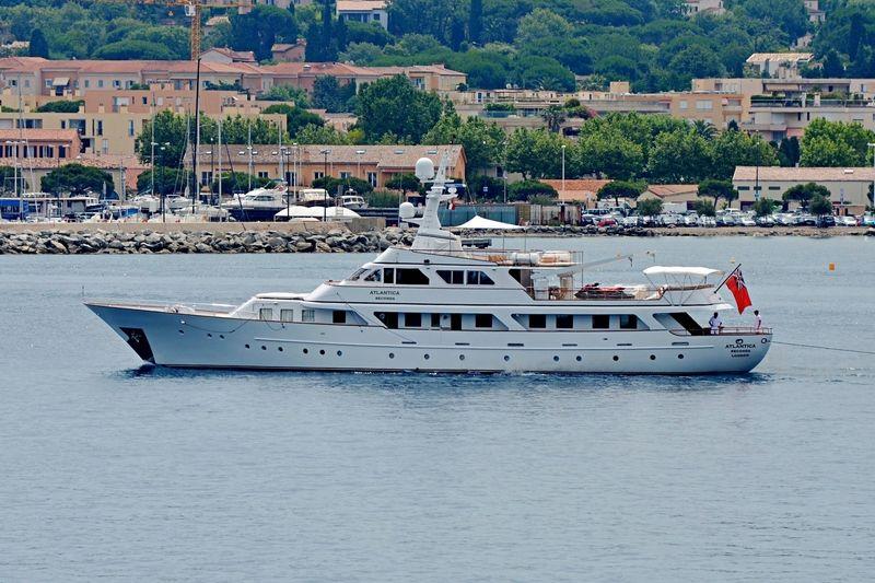 Atlantica Seconda on the French Riviera