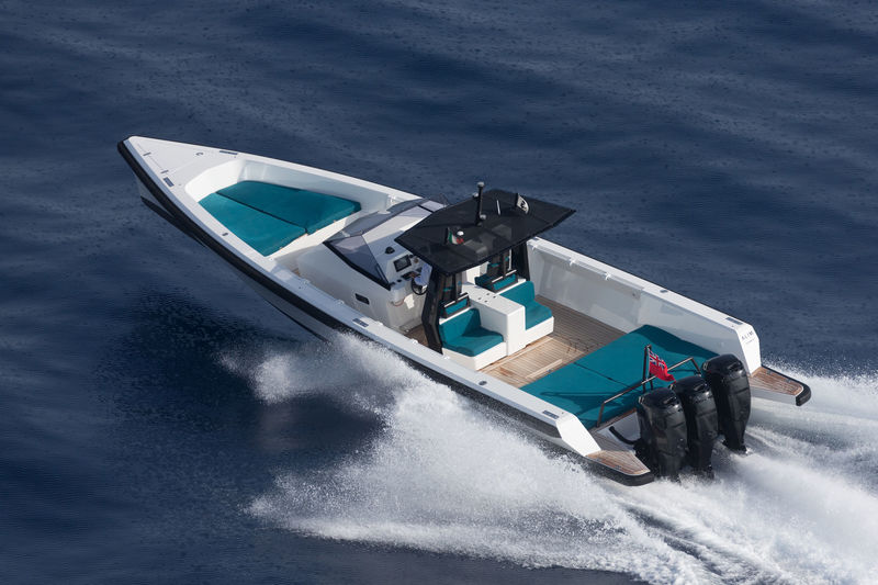 Wally tender X cruising