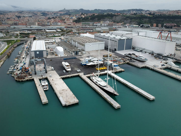 ISA Palumbo shipyard in Ancona