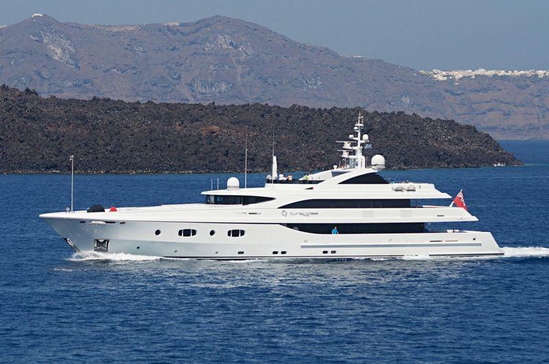 Turquoise cruising in Greece