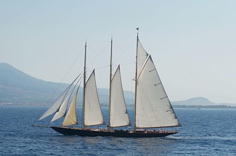 Atlantic sailing in the Mediterranean