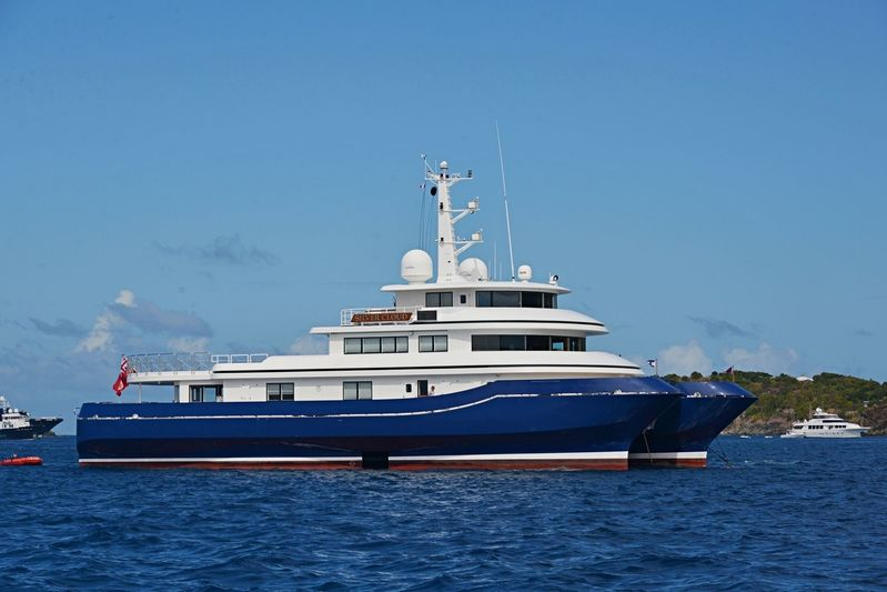 Silver Cloud in the French Caribbean