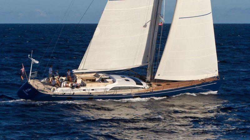 ANANDA yacht Nautor's Swan