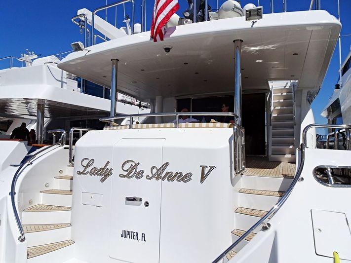 LADY DEANNE V  yacht Hargrave
