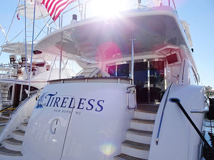 JEANNIETINI yacht Hatteras