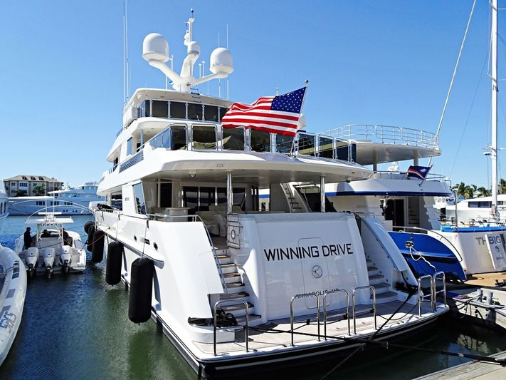 WINNING DRIVE yacht Westport
