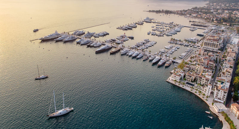 Porto Montenegro from the air