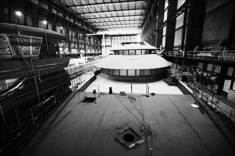 ICON Yachts 280 under construction
