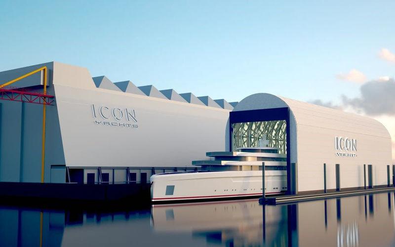 Icon Yachts - Floating Yard