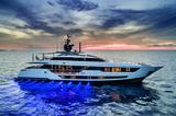 Never Blue Yacht Francesco Paszkowski