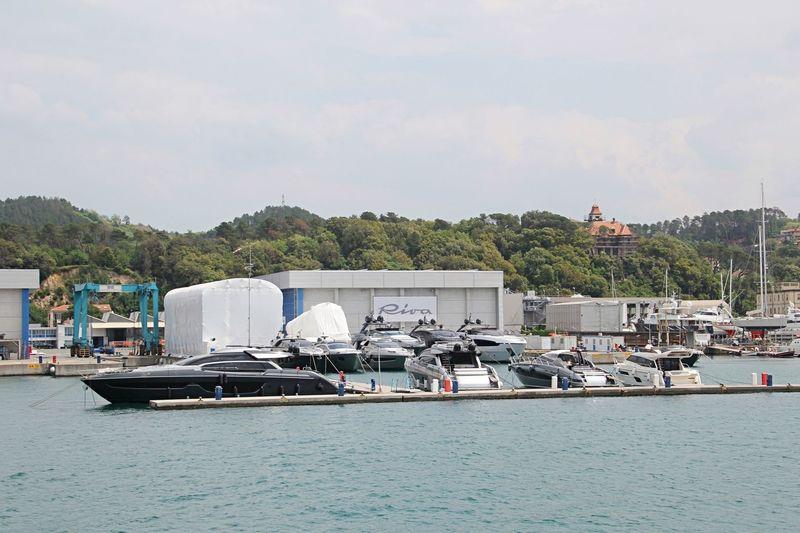 Ferretti Group La Spezia shipyard