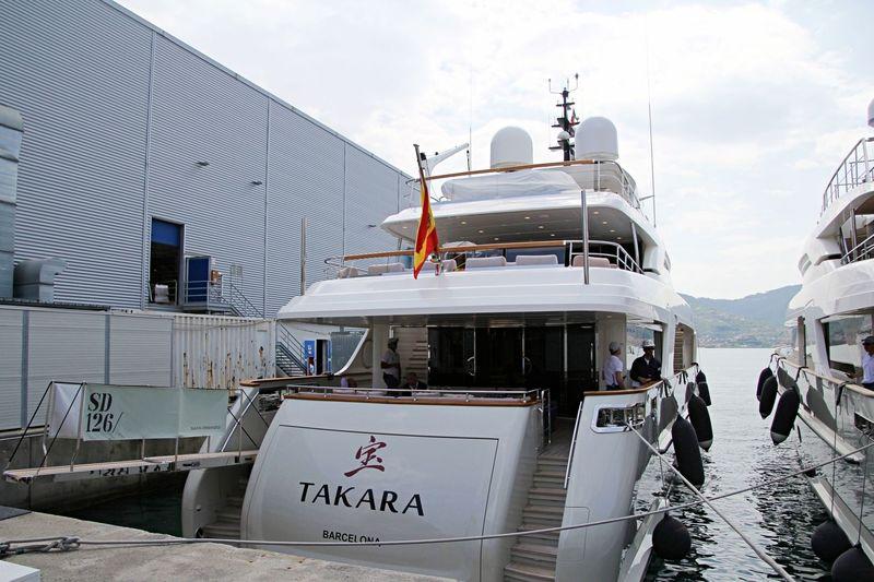 Takara in La Spezia