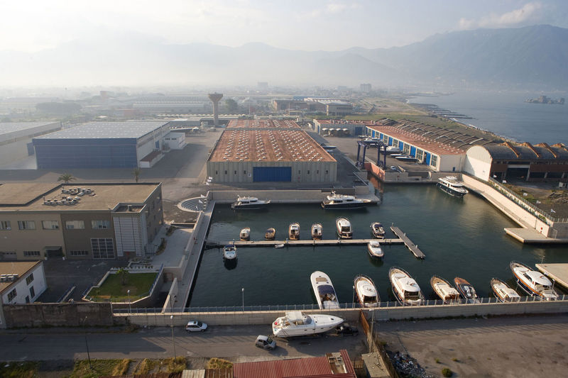 Arcadia shipyard facility in Torre Annunziata