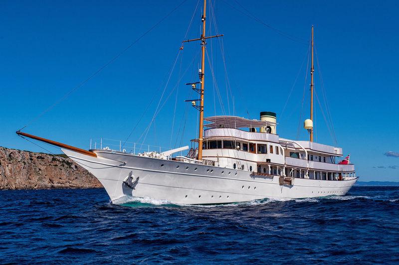 HAIDA 1929 yacht Krupp Germania Werft