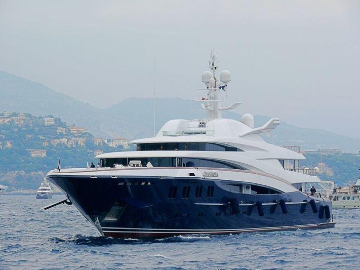 Anastasia arriving in Monaco