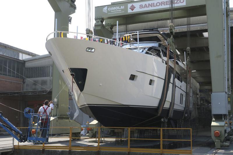 SanLorenzo SL78 Balance launch in Ameglia