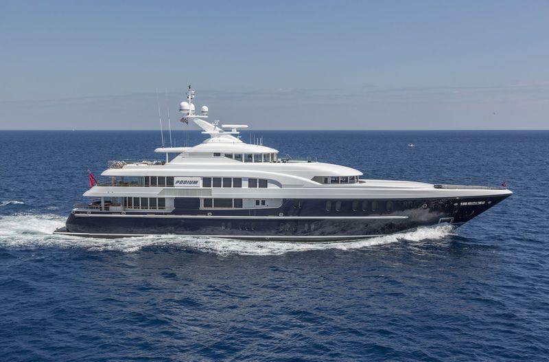 C STAR yacht Lürssen