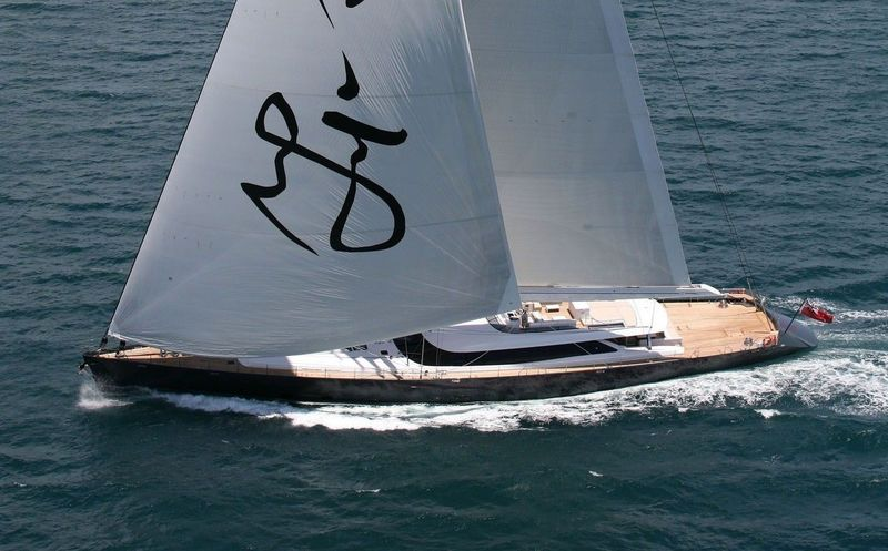 RED DRAGON yacht Alloy