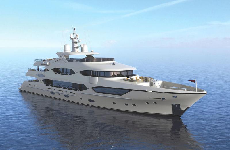Christensen hull 42 exterior rendering