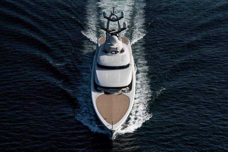 Anna on sea trials