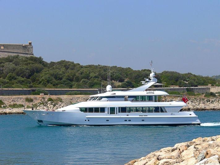 AQUALIBRIUM 1 yacht CRN