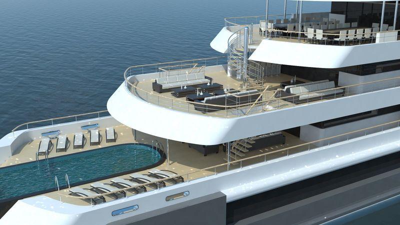Project Seamax Exterior design