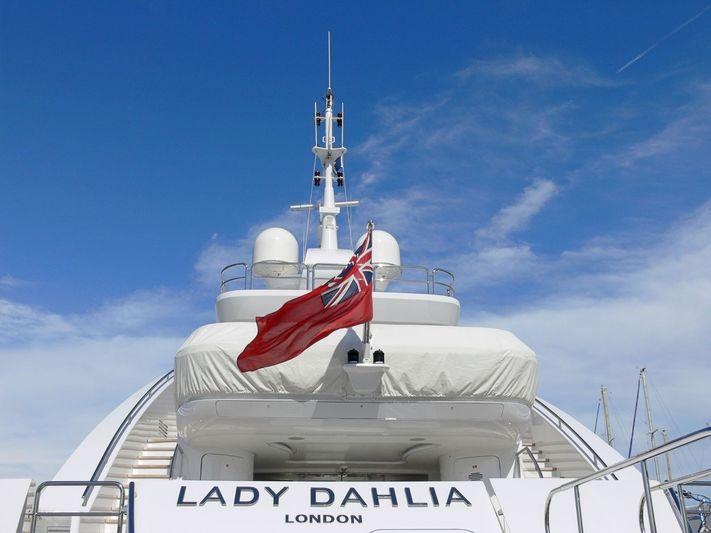 Lady Dahlia in Antibes