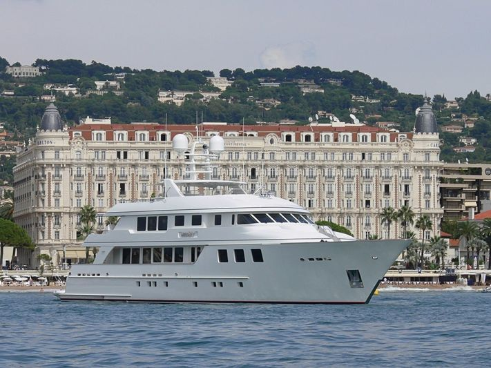 Mirgab V in Cannes